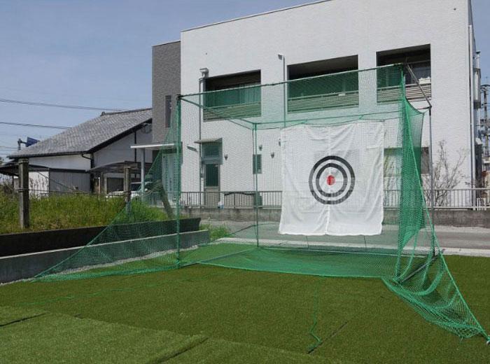ボールリターン構造とシャンクボール防止ネットでプロも納得の構造