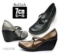 Re,GetA リゲッタ パンプス 7cm はきやすい 歩きやすい かわいい【日本製】【送料無料】