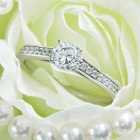 ダイヤモンド婚約指輪 サイズ直し一回無料  0.3ct E SI1 VERY-GOOD  シンプル6本爪 プラチナ Pt900 婚約指輪(エンゲージリング) ■婚約指輪(エンゲージリング) 納期お急ぎの方はご希望日をご相談ください! 通信販売 ダイヤモンド