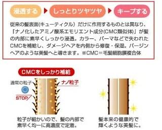 髪の中から髪質変える。ニューウェイジャパン ナノアミノ シリーズのテクノロジー