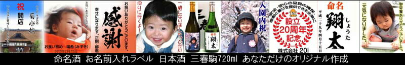 命名酒720ml
