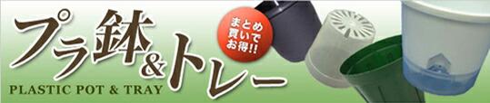 プラ鉢&トレー まとめ買いでお得!!