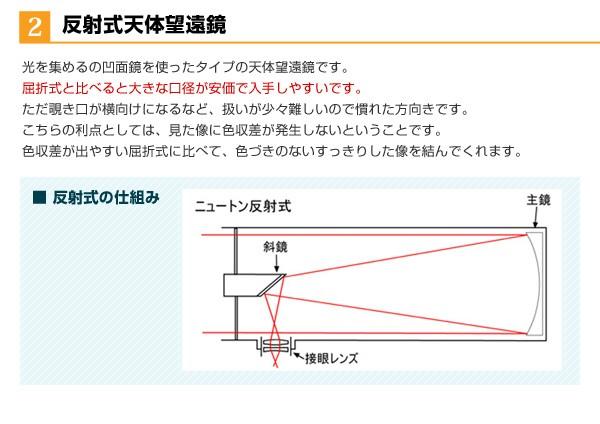 反射式天体望遠鏡