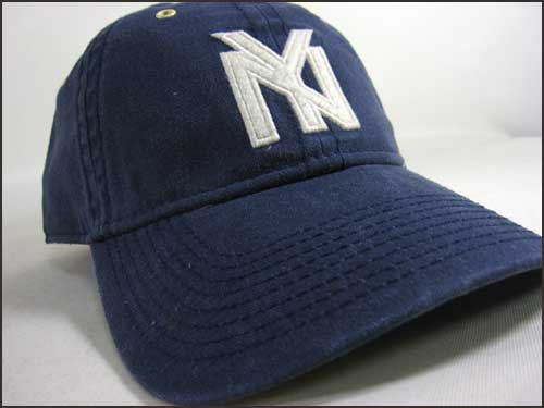 9cc160923f7 ... had been made only in African-Americans in the first half of 20 century  black major league participation was not permitted New York black Yankees  cap.