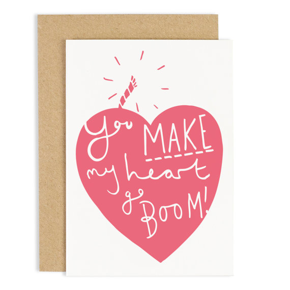 Hafen rakuten global market old english co my heart goes boom a small design studio based in london greeting card of old english company are available m4hsunfo
