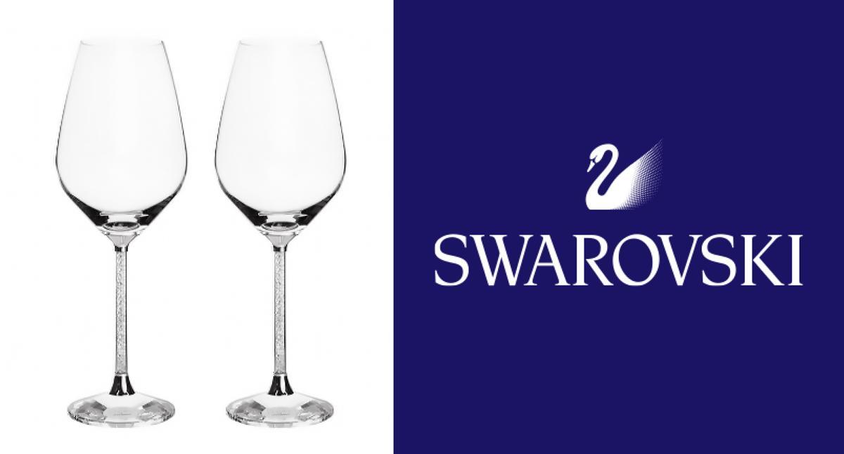 スワロフスキー ワイングラス