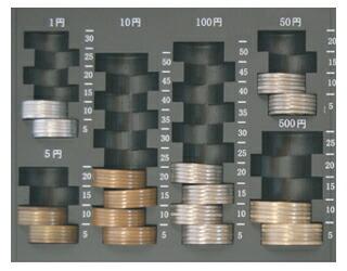硬貨収納部