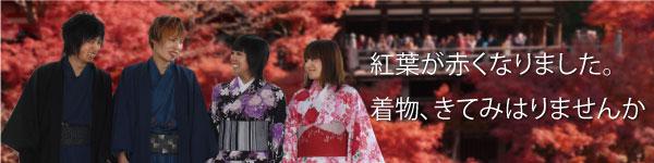 京都で着物きてみはりませんか