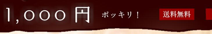 1,000円ポツキリ