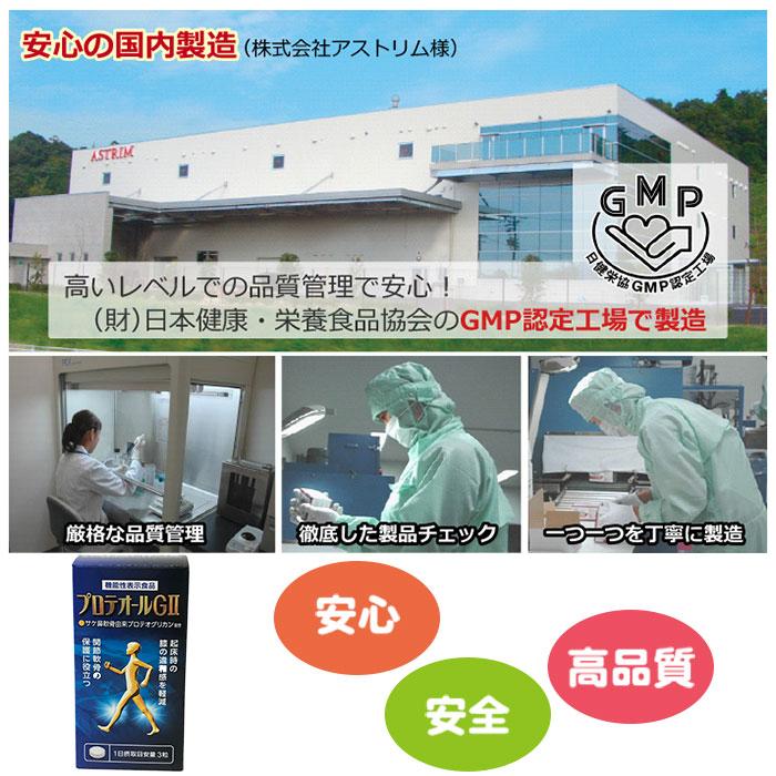 プロテオールGII ・あおもりPG・アストリム・プロテオグリカン・機能性表示食品 GMP
