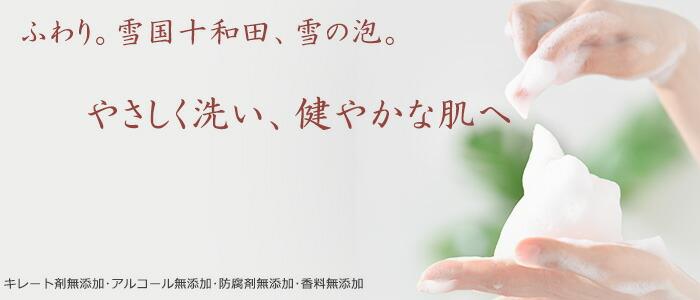 雪の泡せっけん・プロテオグリカン・十和田