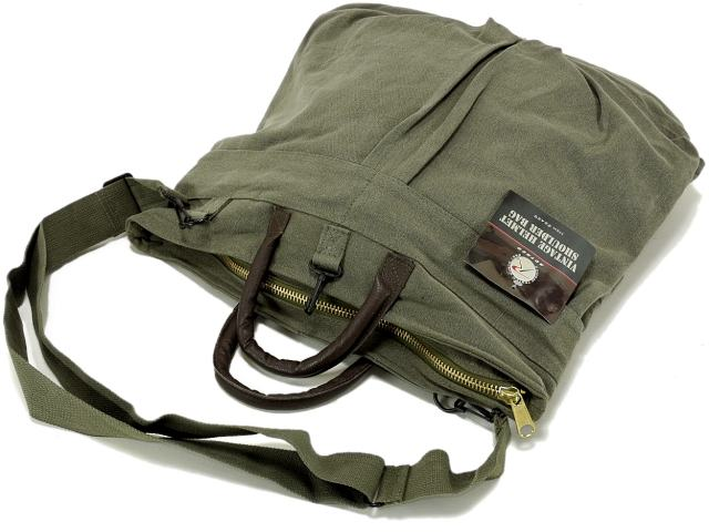 541cd8bc84 This product is a reproduces the United States Air Force helmet bag in  cotton canvas and leather hand vintage helmet bag.