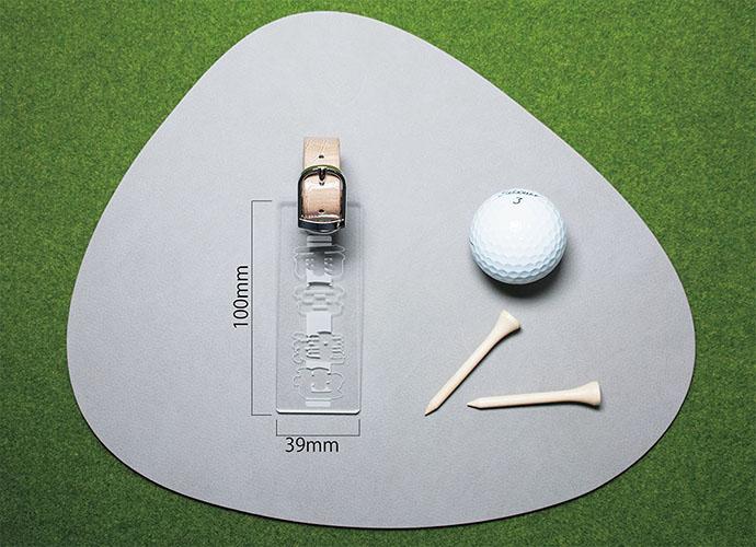 ゴルフタグ 表面