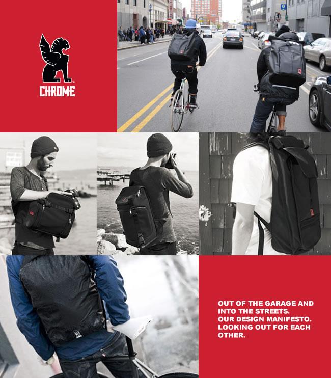 CHROME 單肩斜背包 KADET BG196 pack 美國自行車 肩背包 黑色 日本限定 LUCI日本代購