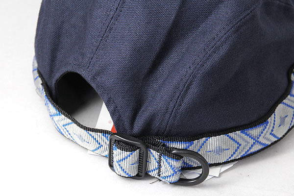 06119e3645f The KAVU Qaboos trap chief can do size adjustment by アジャスタブルウェビングテープ which  a rim had and is a cotton canvas cap adopted by the US canoe ...