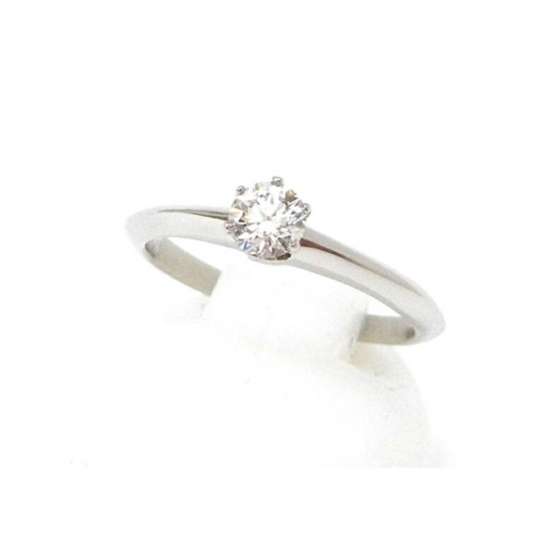 ダイヤモンド立爪リング 0.24ct Gカラー VS2 指輪