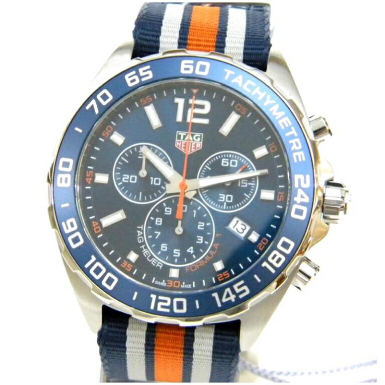 フォーミュラ1 クロノグラフ NATOベルト クオーツ/CAZ1014 メンズウォッチ 腕時計