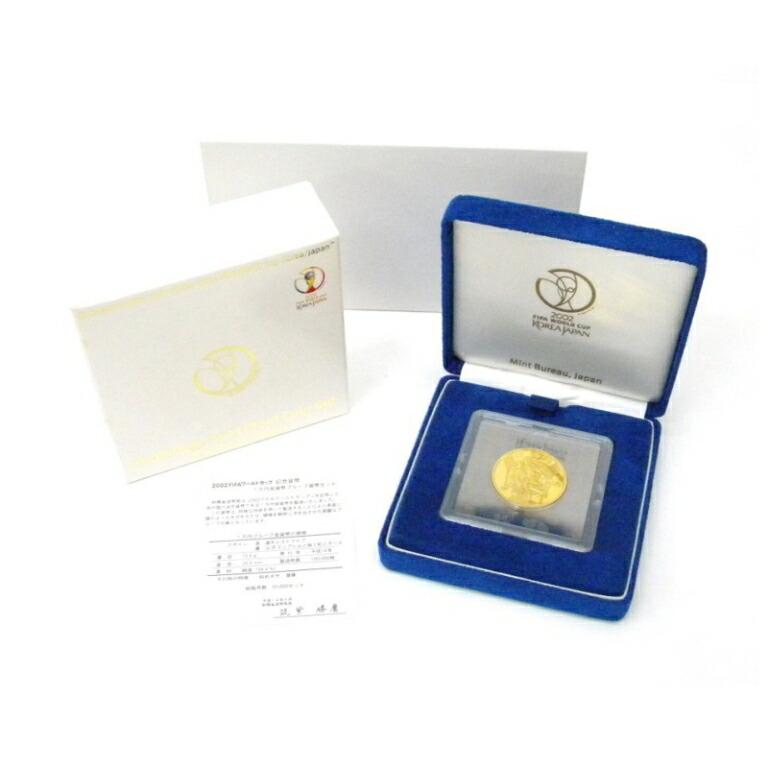 H14 FIFAワールドカップ 1万円金貨プルーフ 記念貨幣