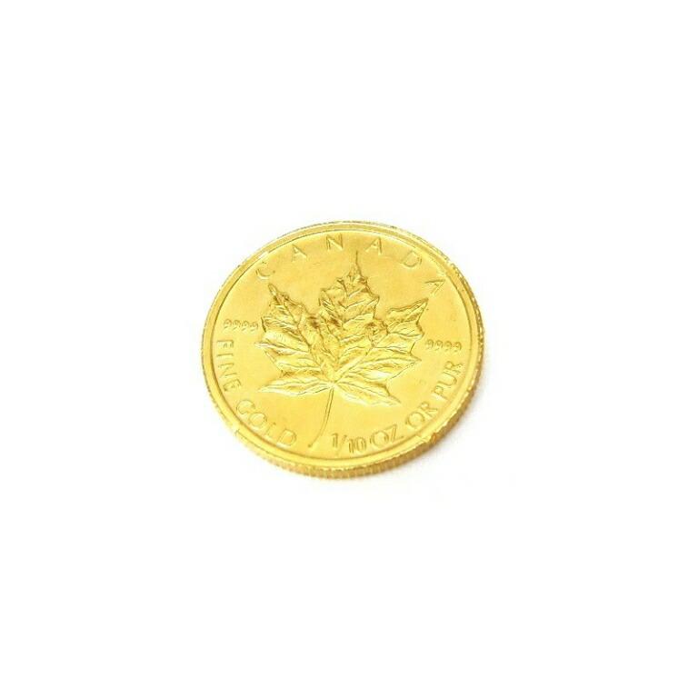 メープルリーフ金貨 メイプルリーフ金貨 1/10オンス 1/10oz 2004年