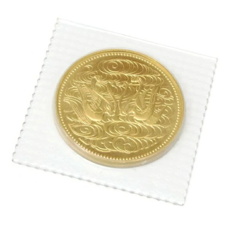 S61 天皇陛下御在位60年記念 10万円金貨 記念硬貨 パック入り 未開封