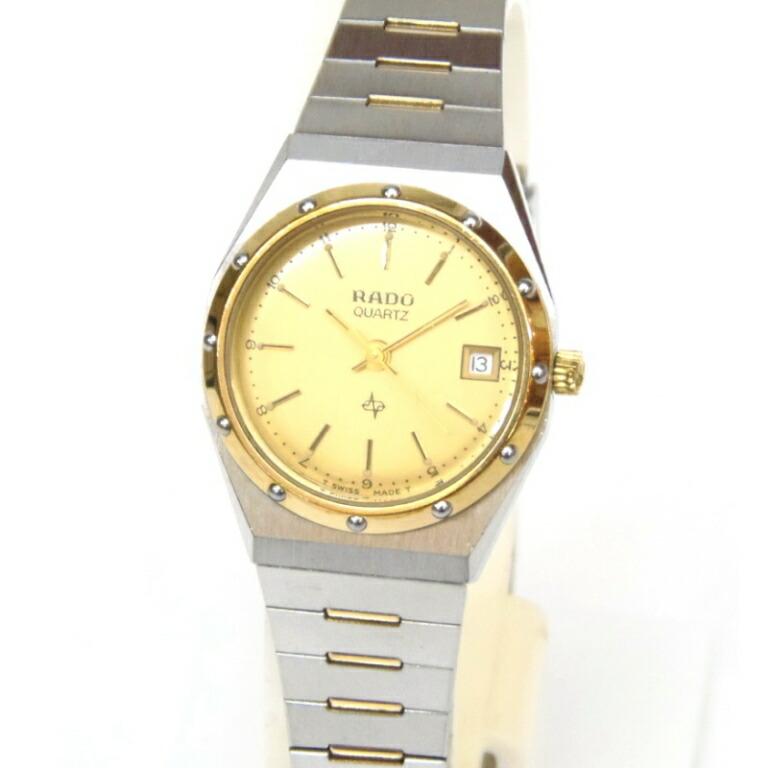 クオーツ コンビ共バンド/111.3330.4 レディースウォッチ 腕時計