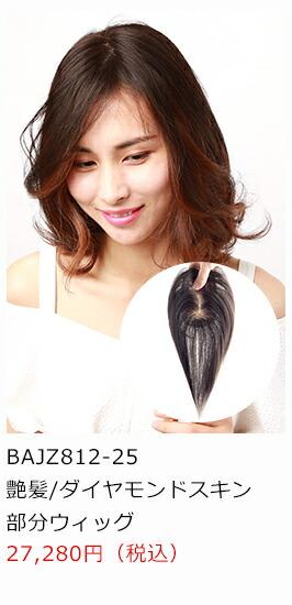 人毛の部分ウイッグ商品画像2
