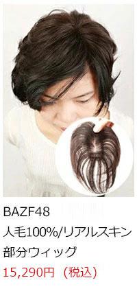 人毛の部分ウイッグ商品画像5