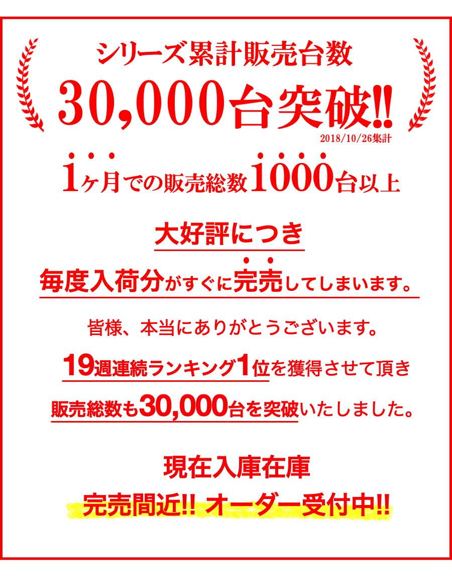 3000台突破