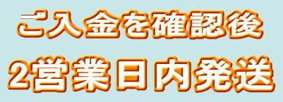 2営業日内発送