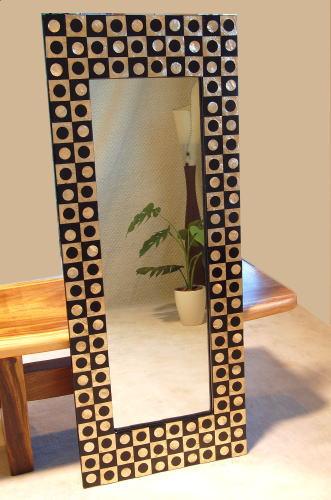Asian Contemporary Mirror