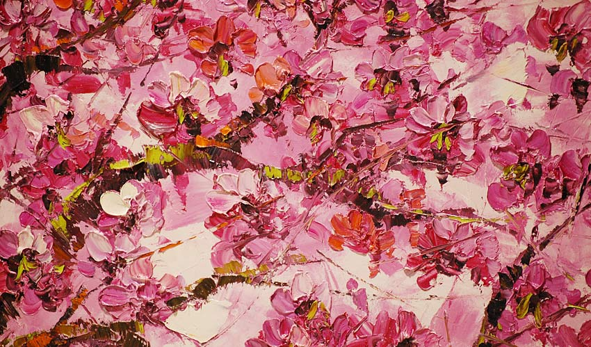 Images Of Cherry Blossoms Paintings