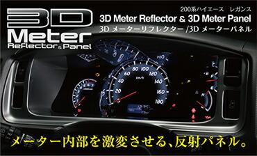 3Dメーターリフレクターパネル