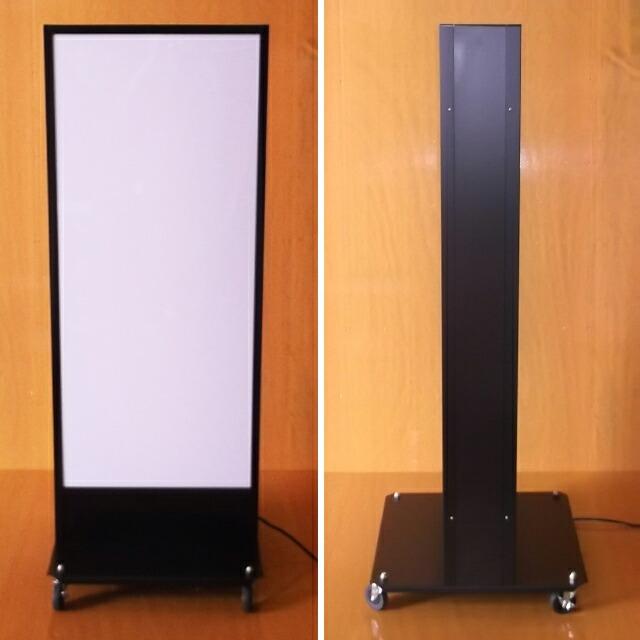 インバーター電飾スタンド看板(LL)正面・側面