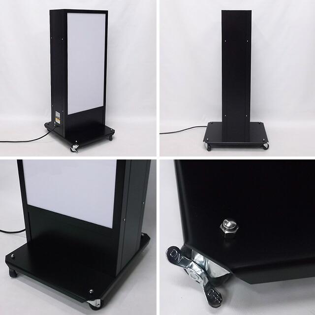 デザイン・貼り加工込み電飾スタンド看板(SS)写真2