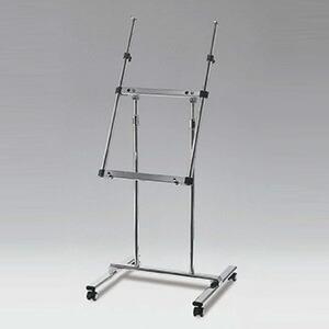 キャスター付き傾斜型パネル用スタンド
