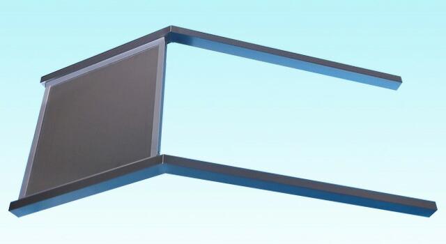 ステンレス2本足傾斜タイプ(小)完成横