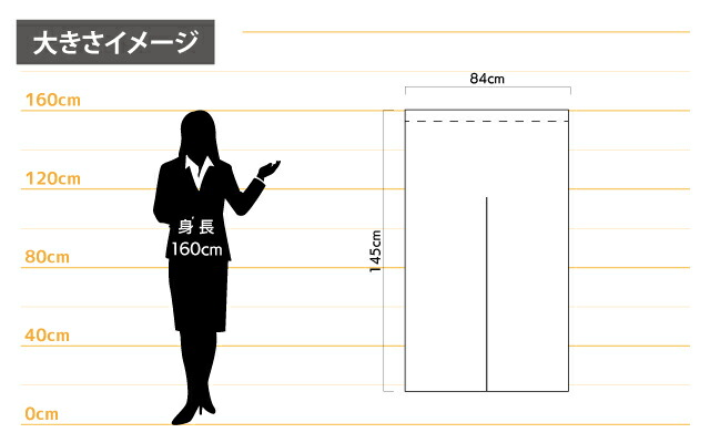 """""""女性とのサイズ比較"""
