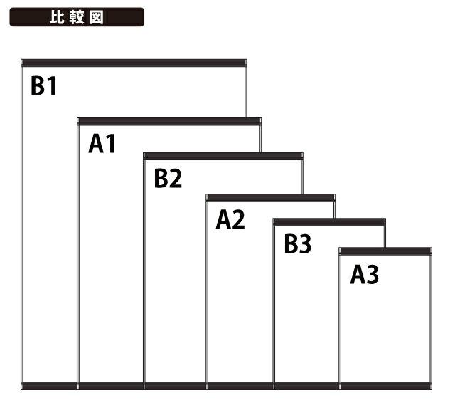 上下オープンフレームパネル寸法比較