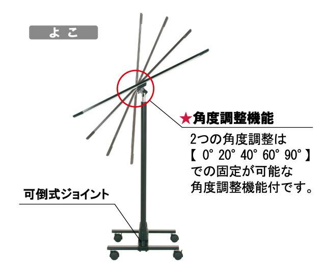 アクセントパネル付ポスタースタンド】B1サイズ【片面】構造1