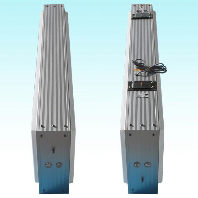 アルミ枠突き出し看板(角型)/タテ127cm×ヨコ45cm側面写真