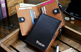 バイカラー 折り財布 VA-6620