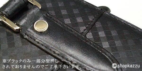 セカンドバッグ メンズ スペインレザー 牛床革 メッシュ ループハンドル VACUA (3色) 【VA-007M】イメージ写真8