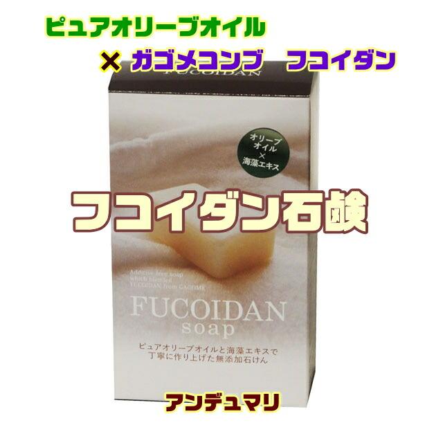 フコイダン含有石けん