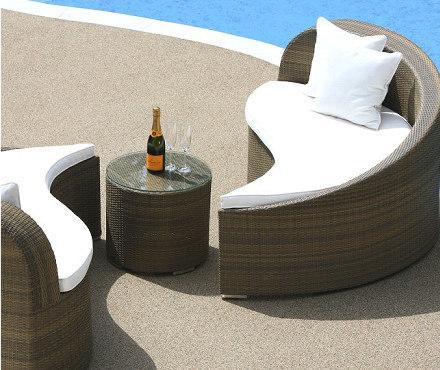 【楽天市場】落ち着いた南国リゾートのような癒しの空間を デイベッドソファ Amp テーブル ♪ 心安らぐアジアン