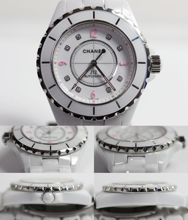 newest df140 963e6 MT862】【】CHANEL シャネル J12 オンライン 38mm J12 ピンク ...