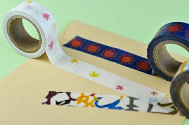 オリジナル印刷マスキングテープ「マスキングデジテープ」