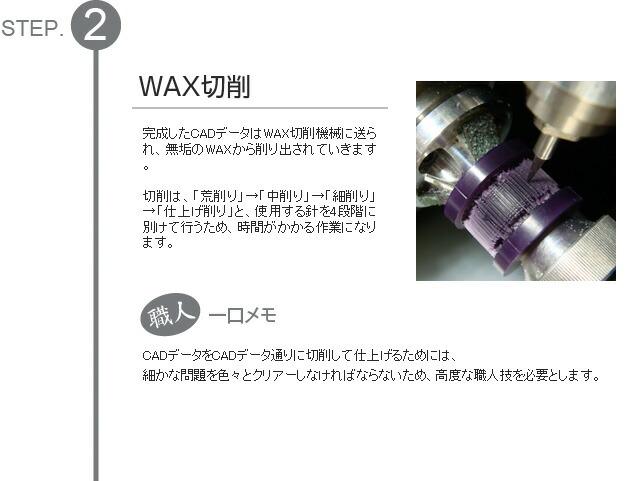 WAX切削