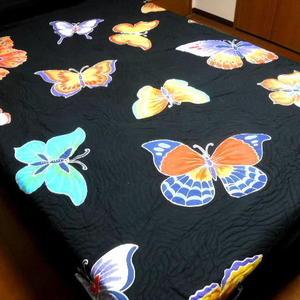 蝶々柄ブラック