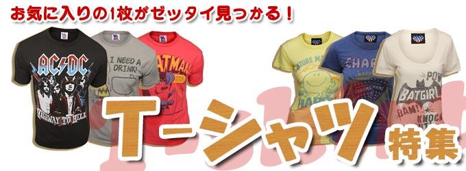 Tシャツ特集 〜お気に入りの1枚がきっと見つかる
