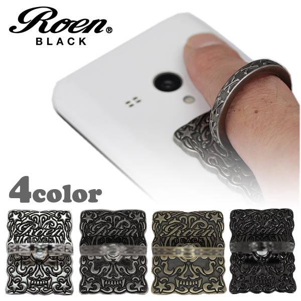 Roen BLACK/ロエンブラック スマートフォンリング スマホリング スタンド